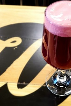 "Wellspent's blackberry sour is part of the brewery's ""On the Bright Side"" collection."