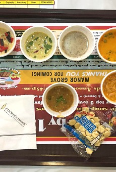 Sample 22 soups and then vote for your favorite.