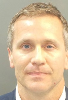 Ex-Governor Eric Greitens is out of the basement.