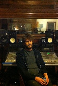 Native Sound co-owner David Beeman behind the controls at the studio.