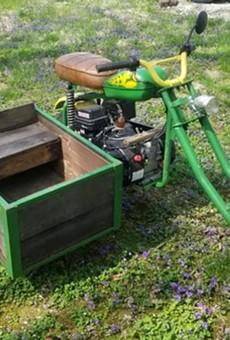 Kickass John Deere Apocalypse Bike For Sale in St. Louis Area