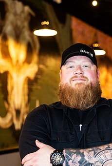 David Sandusky, pitmaster and co-owner of BEAST Craft BBQ and BEAST Butcher and Block.