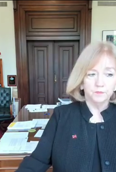 In the since deleted video, Krewson lists the full names and identifying information of at least ten activists, including the streets they live on.