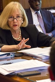 Mayor Lyda Krewson has apologized for doxxing police critics.