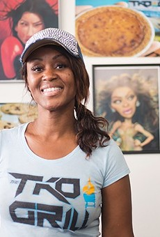 """TKO Grill chef-owner Toronza """"Tee"""" Cozart's menu is inspired by family recipes handed down to her from her mother."""