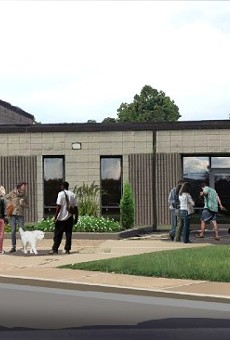 A rendering of Gateway Pet Guardians' facility in East St. Louis.