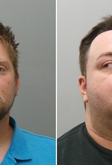 Velda City police officers Matthew Schanz and Christopher Gage face assault charges.