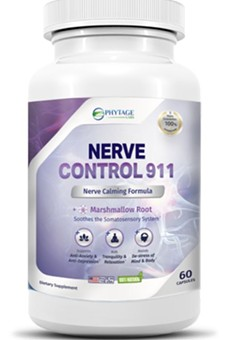 Nerve Control 911 Reviews – Legit Nerve Calming Supplement?