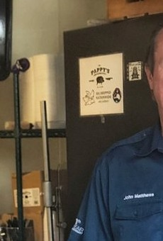John Matthews of Pappy's Smokehouse Is Hopeful As He Prepares Second Location