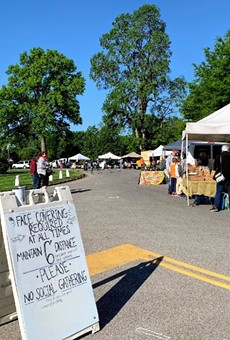 Tower Grove Farmers Market.