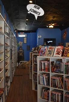 Apotheosis Comics & Lounge.
