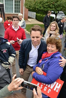 U.S. Senator Josh Hawley is always ready to be whoever he needs to be.