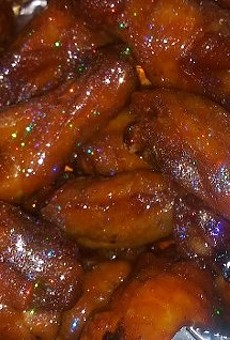 These may be the most luxe wings known to man.