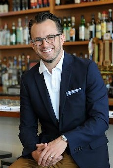 Elmwood's Chris Kelling looks for every chance he can find make a genuine connection with his guests.