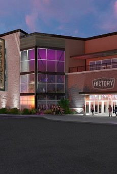 A rendering of what the Factory will look like once it is complete.