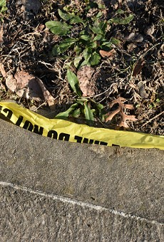 A thirteen-year-old boy was asleep on his couch when he was shot, police say.