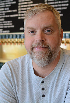 Finding ways to connect with his guests at 9 Mile Garden and Guerrilla Street Food is what gets Brian Hardesty through these challenging times.