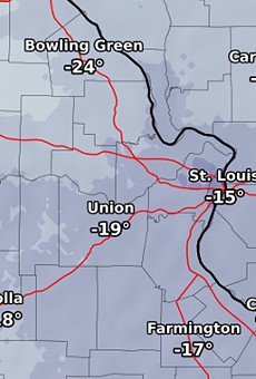 St. Louis Weather Expected to Stay Below Freezing Until February 20