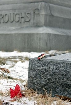 Rush Limbaugh will lay near William S. Burroughs for all eternity.