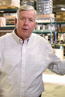 Governor Mike Parson doesn't care how you get the cash to pay him back that extra unemployment money — you'd just better get it.