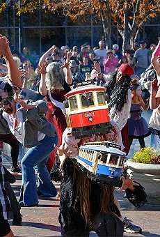 St. Louis is once again under siege by zombie trolley cars.