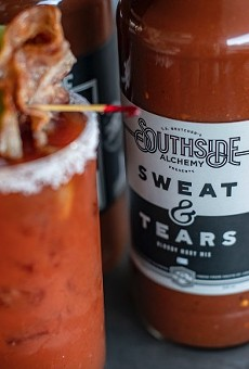 Southside Alchemy's Sweat & Tears Bloody Mary mix received the gold medal at the Fourth Annual Drunken Tomato Awards.