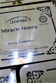 """It may be natural for men, but this """"miracle honey"""" isn't being legally imported to the U.S."""