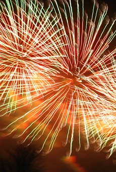 The fireworks will provide end-of-the-evening entertainment after other Thursday evening events in Grafton and Alton.
