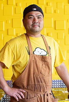 Co-owner Yuduck Lee (pictured) decided with his sister-in-law Hye Keeley and their business partner Dae Yeol Lee to expand K-Bop with a brick-and-mortar restaurant.