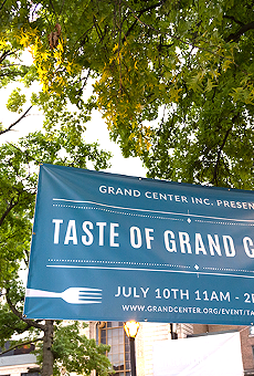 The Taste Of Grand Center kicks off this weekend with food, music and art.