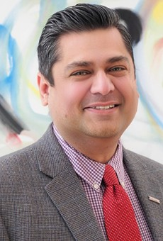 Dr. Faisal Khan, acting director of the St. Louis County Department of Health.
