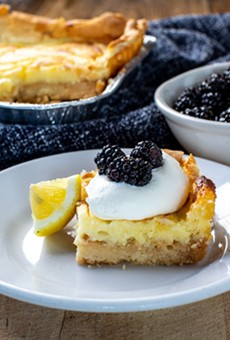 This delicious gooey butter cake can now be enjoyed from the comforts of your own home.