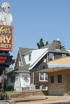 The unmistakable sign is a beacon on Gravois in south St. Louis County.