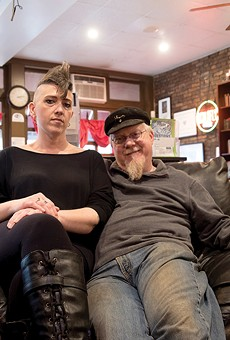 Shameless Grounds owners Michelle and Andrew Mueller run the sex-positive sanctuary in Benton Park.