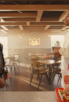VIDEO: Nelly Keeps it Real With a New Burger King Meal