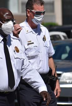 St. Louis police Chief John Hayden (left) is retiring. Who wants his job?