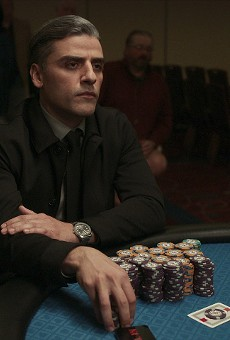 Oscar Issac stars as brooding gambler William Tell in The Card Counter.