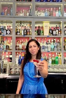 Gin Room owner Natasha Bahrami.