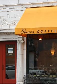 Shaw's Coffee.