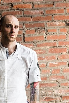Chef Logan Ely of the Lucky Accomplice