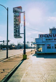 Donut Drive-In is one of St. Louis' great cash-only donut dives.