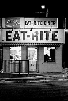 Open 24 hours a day, Eat-Rite Diner sits on the edge of downtown.