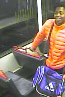 St. Louis police are trying to identify this 'person of interest' as part of MetroLink shooting investigation.