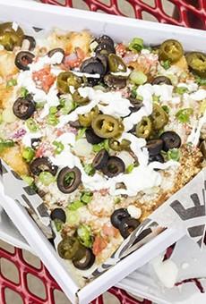Nachos: A good choice for vegetarians.