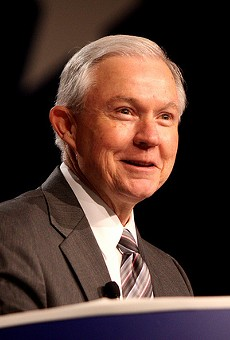 U.S. Attorney General Jeff Sessions will speak on Friday in St. Louis.