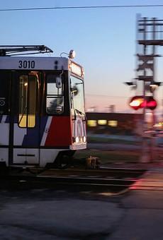 A man was shot dead aboard a MetroLink train late Monday night.