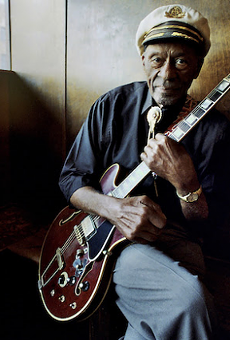 """Listen to Chuck Berry's New Track, """"Wonderful Woman,"""" Written for His Wife"""