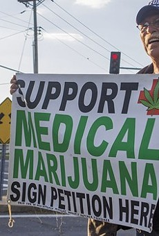 Jeff Mizanskey, who spent 22 years in prison for non-violent marijuana offenses, gathered signatures for Missouri's failed 2016 ballot initiative.