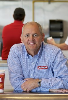 He started at McDonald's and spent lots of time at Panera. Now he's CEO of St. Louis' most-loved chain.