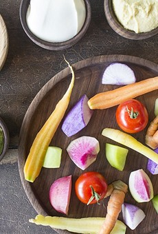 """At Vicia, """"Naked Vegetables"""" are more than just an expensive veggie tray."""